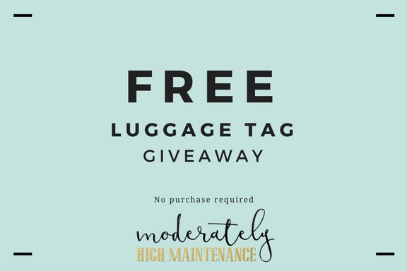 Luggage Tag GIVEAWAY