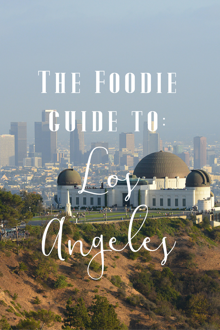 LA has tons of super cool neighborhoods worth exploring. If you're a foodie, this city will be your paradise.