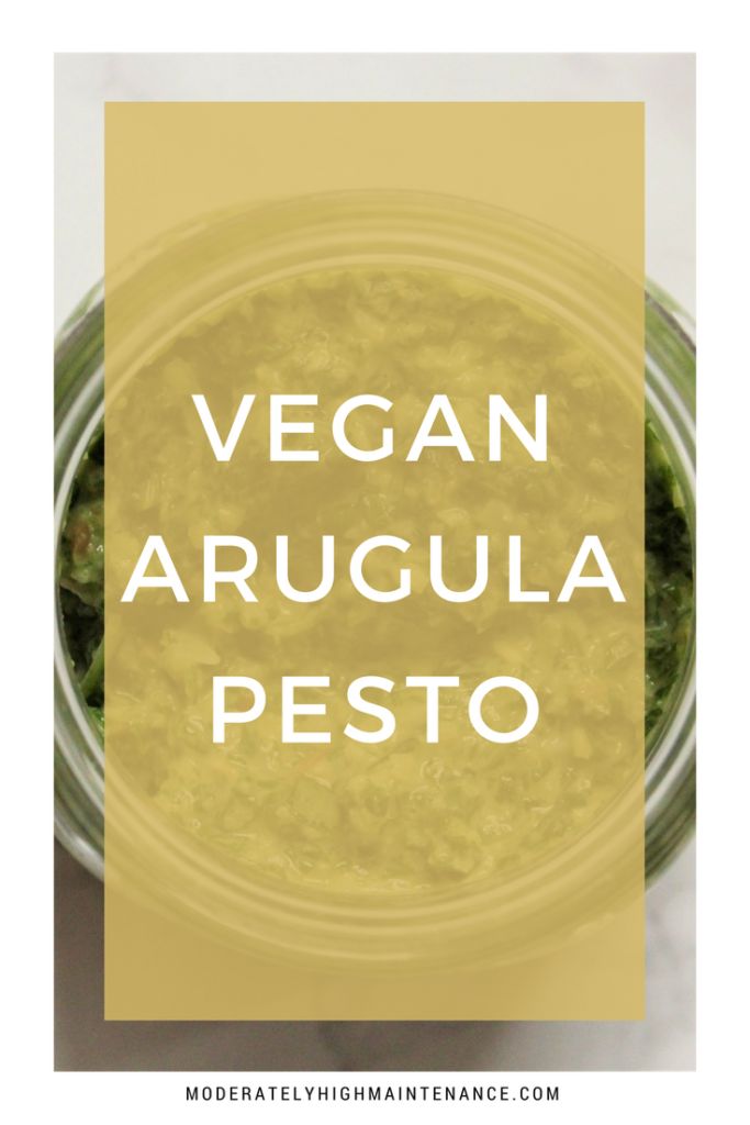 If you love pesto, vegan arugula pesto is a great alternative. Not just for those enjoying a plant-based diet, this recipe is absolutely delicious.