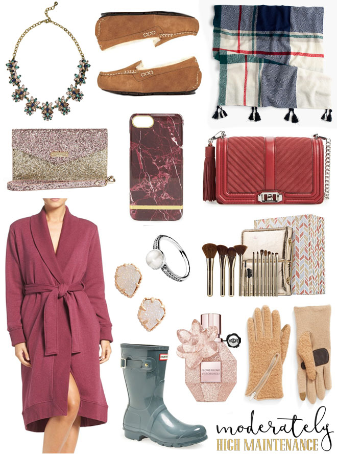 Ladies, this gift guide is for you! Here are some of my all time favorite things that should definitely be on your list!