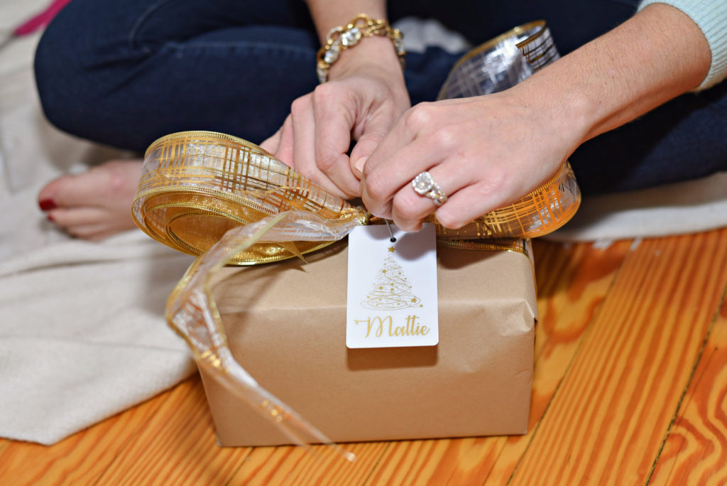 Christmas Wrapping Ideas featured by top Atlanta lifestyle blogger, Moderately High Maintenance