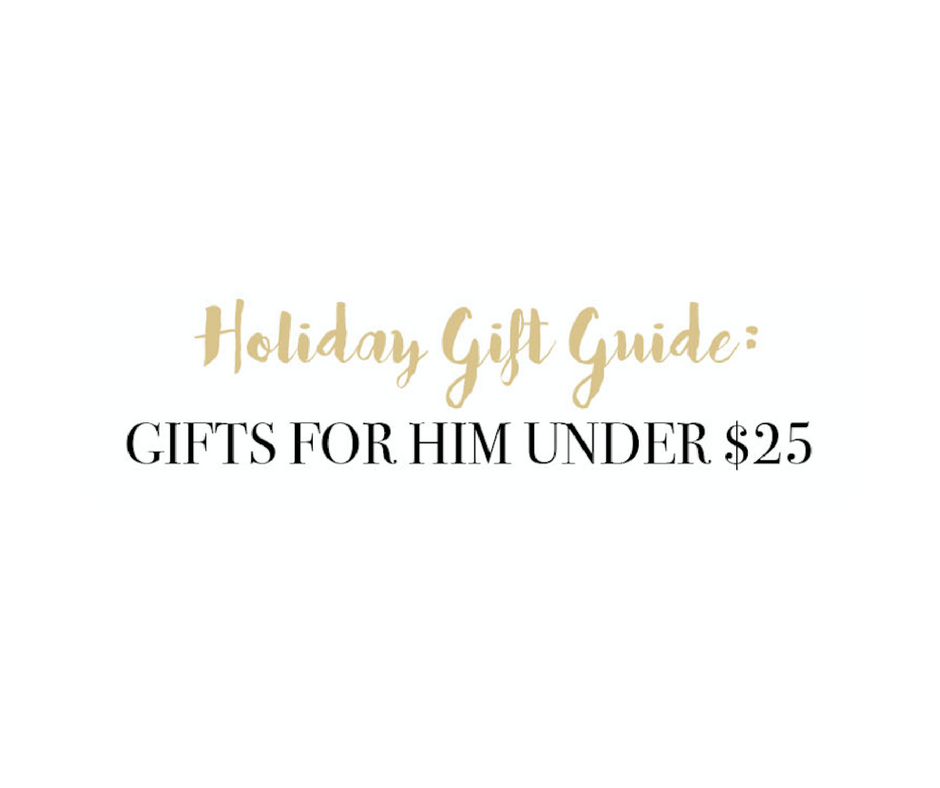 Gifts for Men Under $25