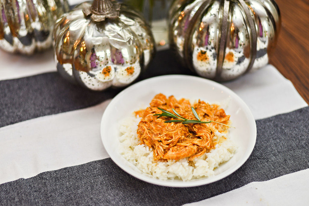 Savory Pumpkin Shredded Chicken