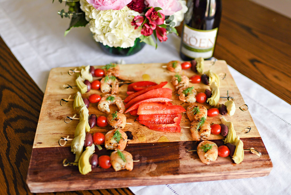 Mediterranean Shrimp Skewers