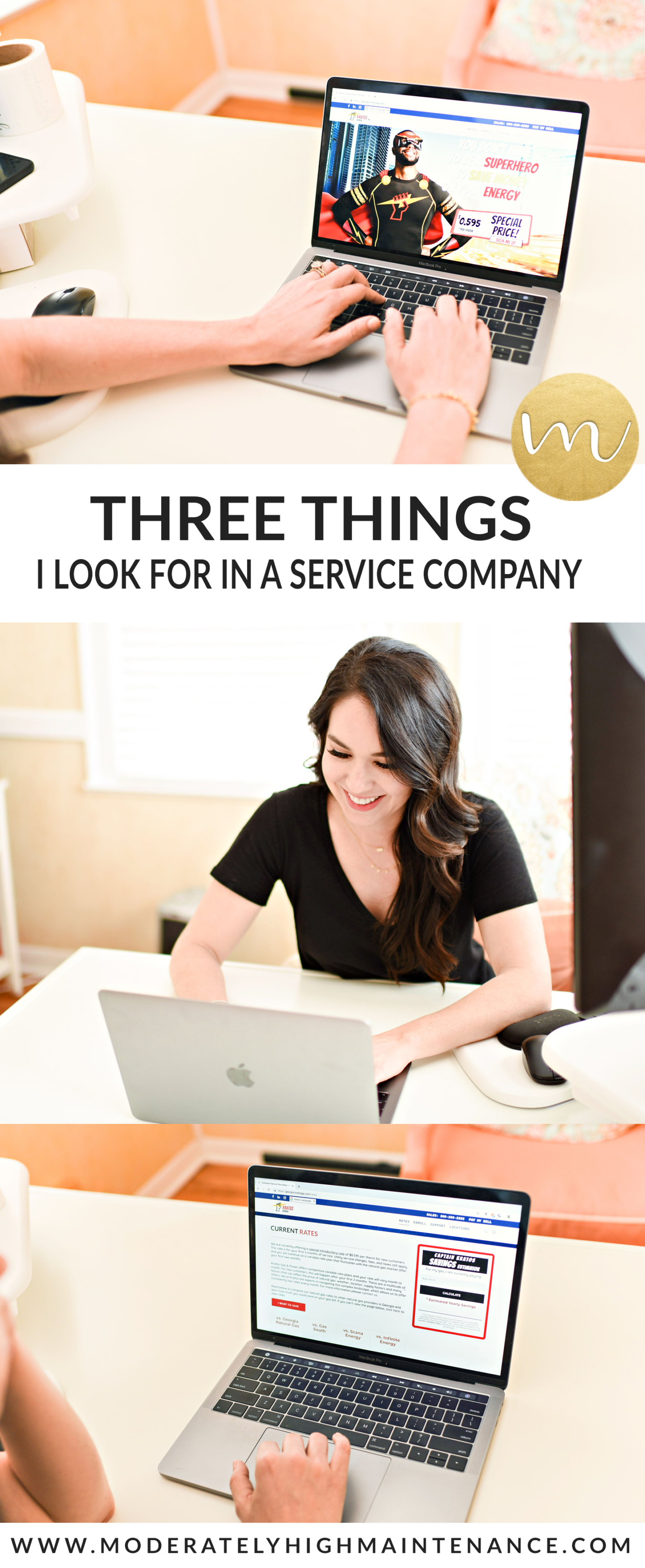 We are in the process researching different energy companies for our new property. Here are 3 things I look for in a service company.
