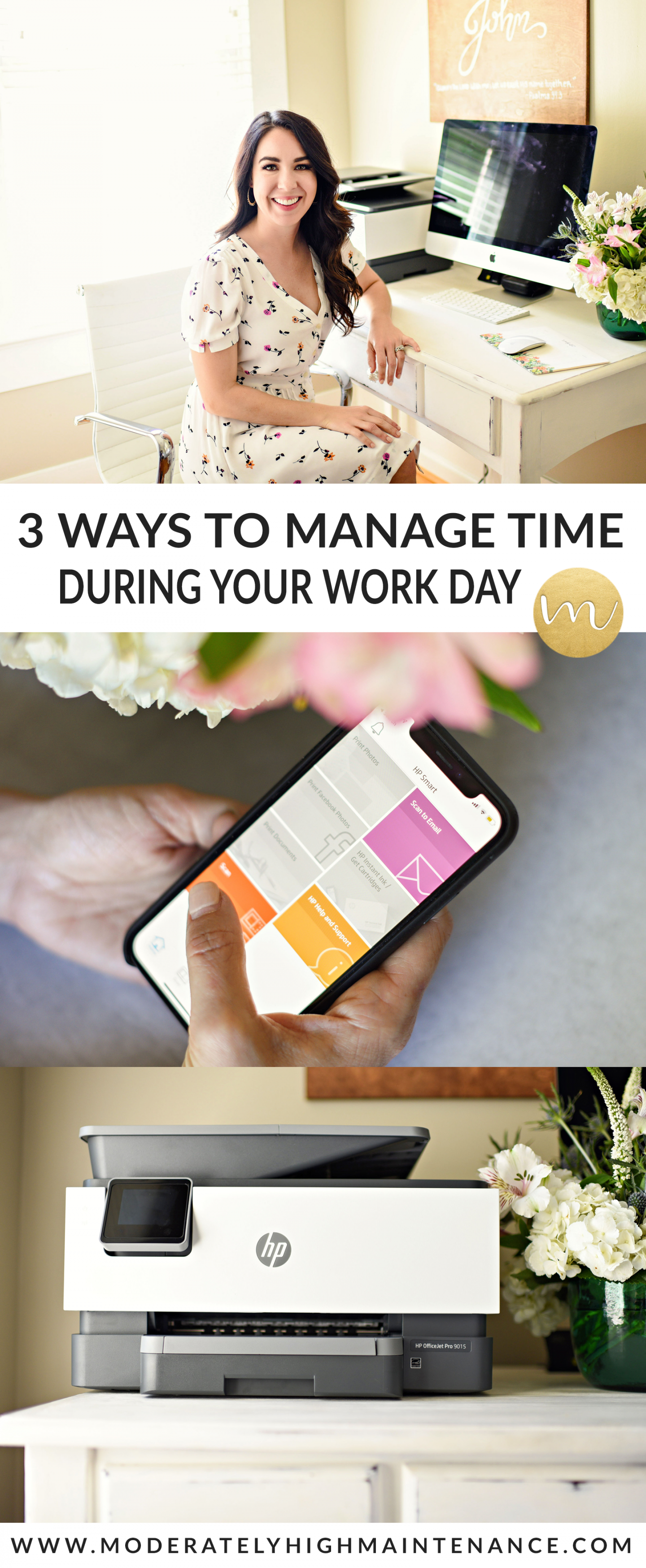 As a small business owner, I have learned how to manage my time well. Here are three keys things that help me manage my time and run my businesses better.
