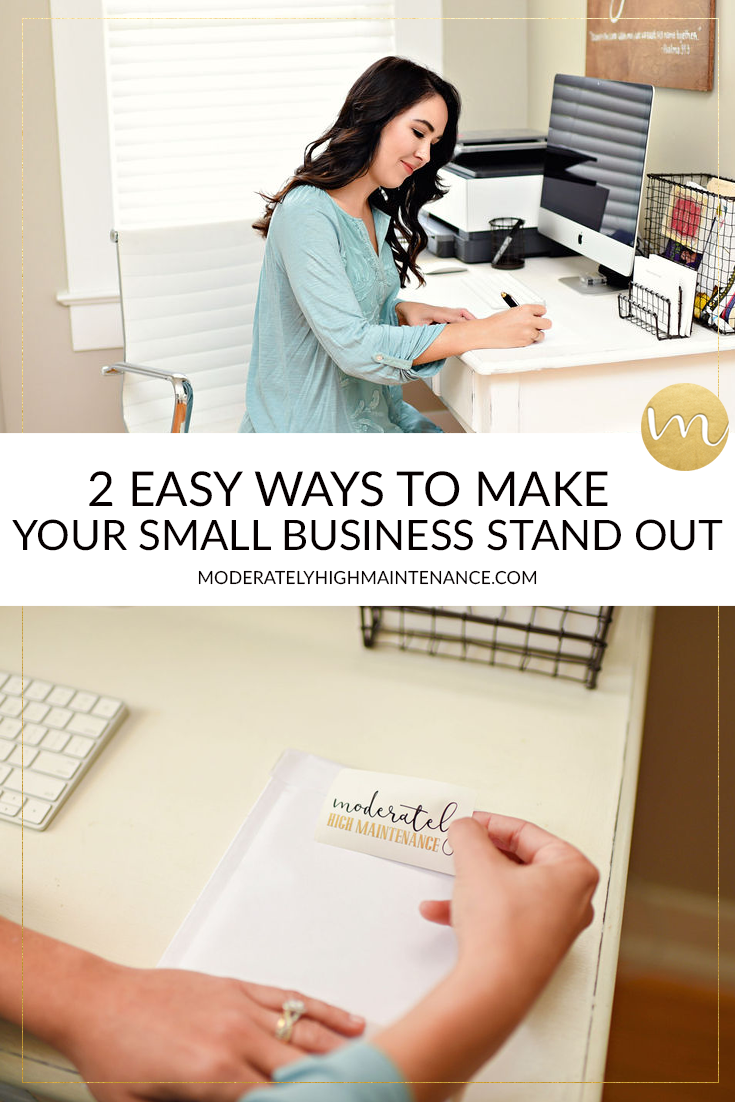 I want each of our customers to know that they are important and tha's why I am so excited to share Two Ways To Make Your Small Business Stand Out.