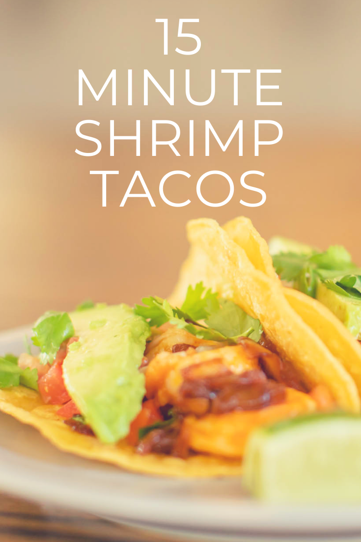 Despite the versatility of shrimp we generally like to saute when we are preparing it at home. Here is our favorite Shrimp Taco Recipe!