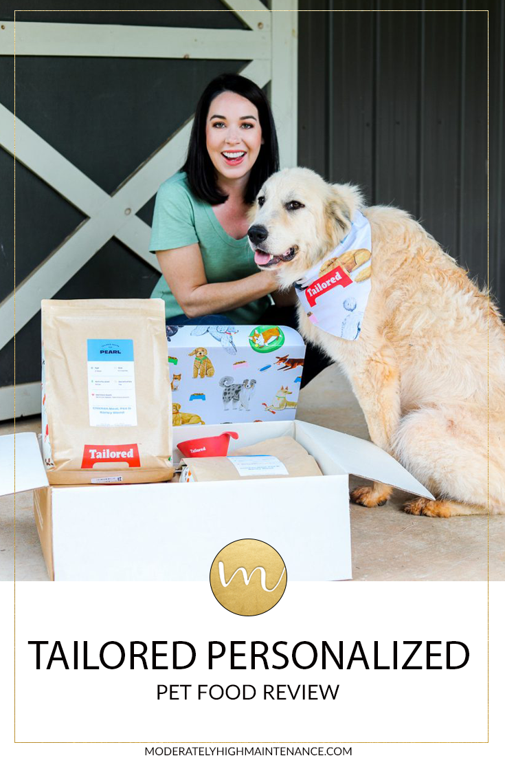 Tailored Personalized Pet Food Review