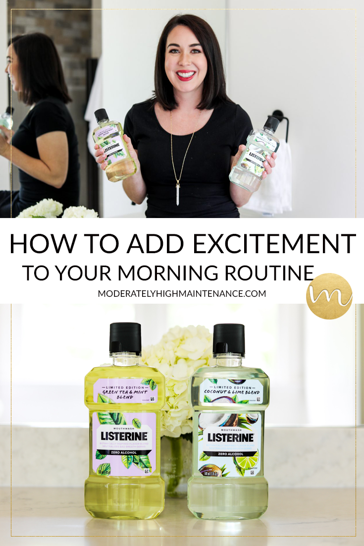 Everyday deserves to start on a positive note, here are a few of my favorite ways that you can add excitement to your morning routine.