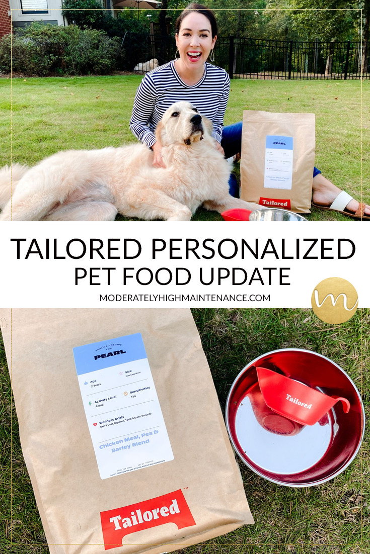 We always look for new products for pets and recently tried Tailored personalized pet food for our picky dogs and wanted to share our results!