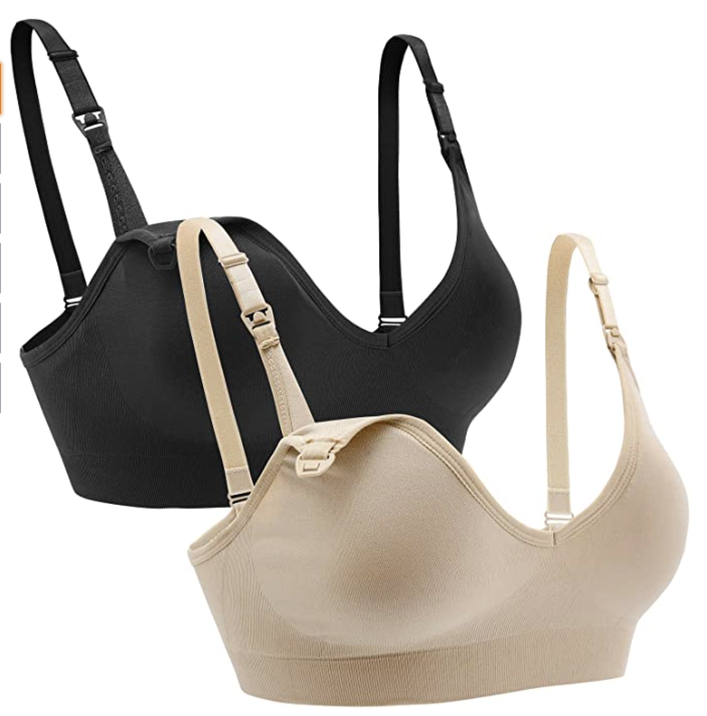 Amazon Favorites: 6 Pregnancy Essentials featured by top Atlanta lifestyle blogger, Moderately High Maintenance: Maternity bra