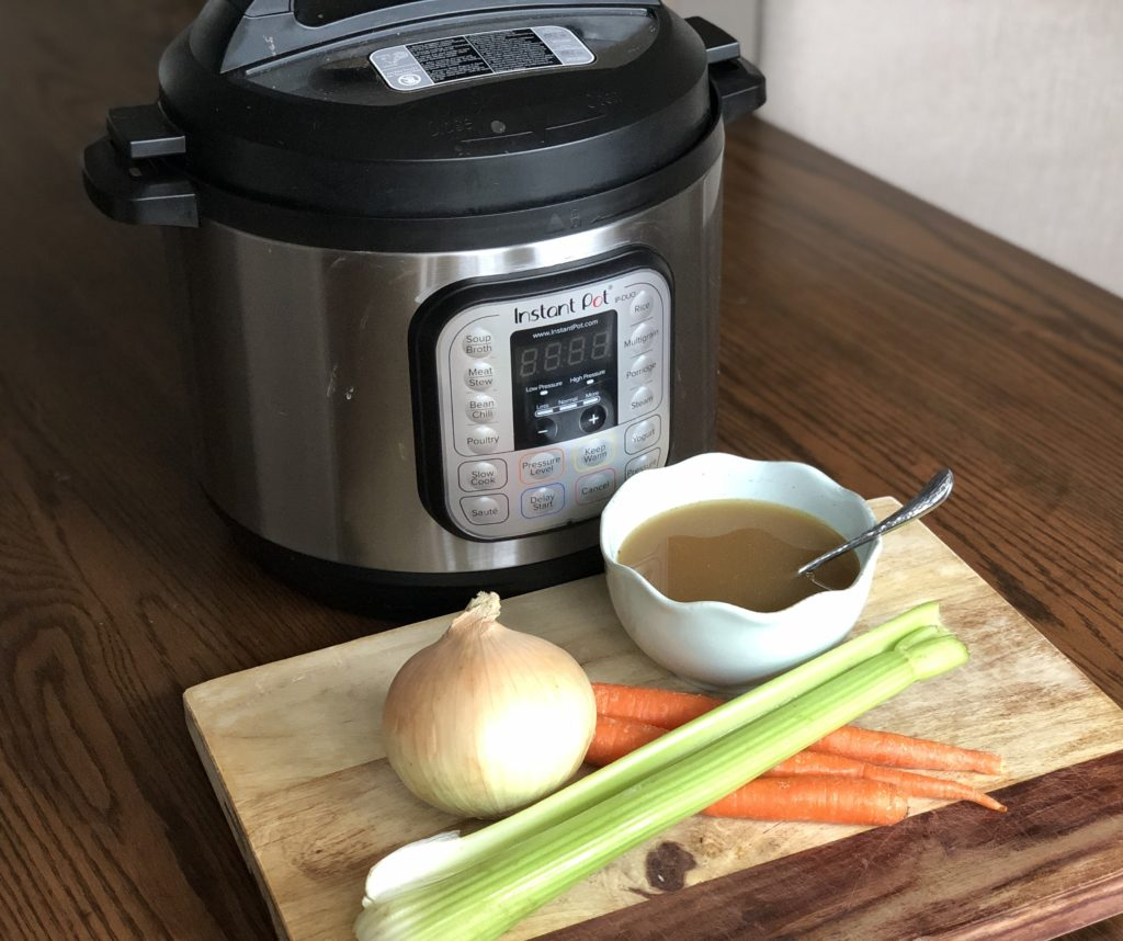 5 Easy Instant Pot Chicken Recipes for Fall featured by top Atlanta lifestyle blogger, Moderately High Maintenance