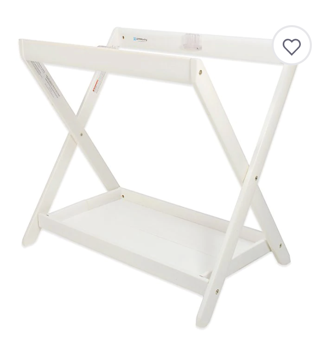 Best Baby Items by popular Atlanta motherhood blog, Moderately High Maintenance: image of a bassinet stand.