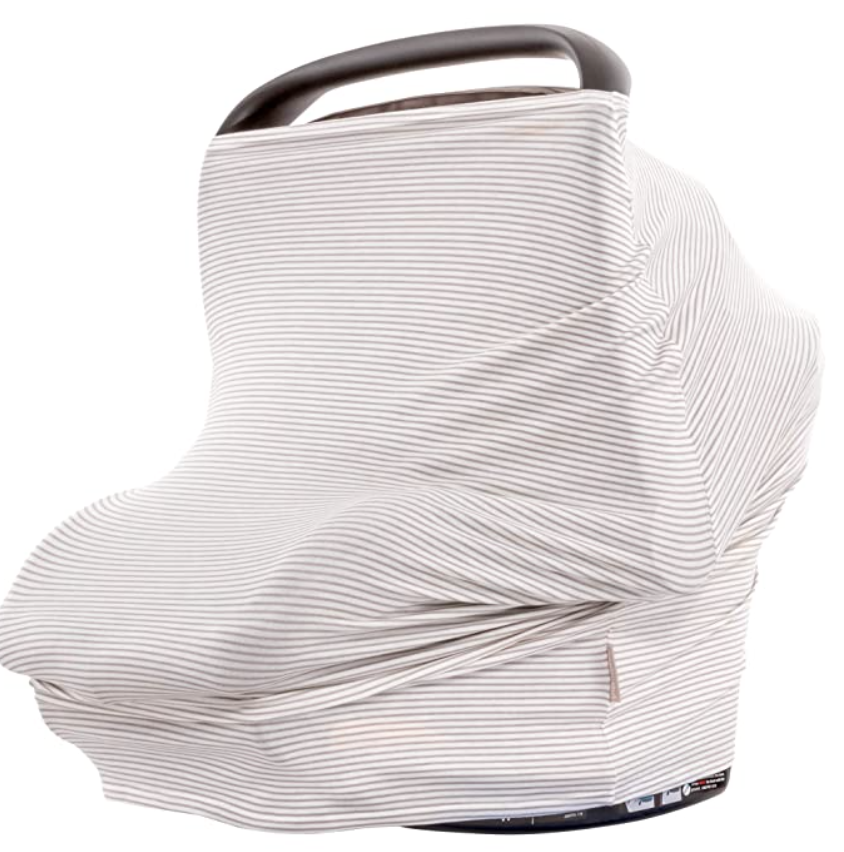 Best Baby Items by popular Atlanta motherhood blog, Moderately High Maintenance: image of a carseat cover.