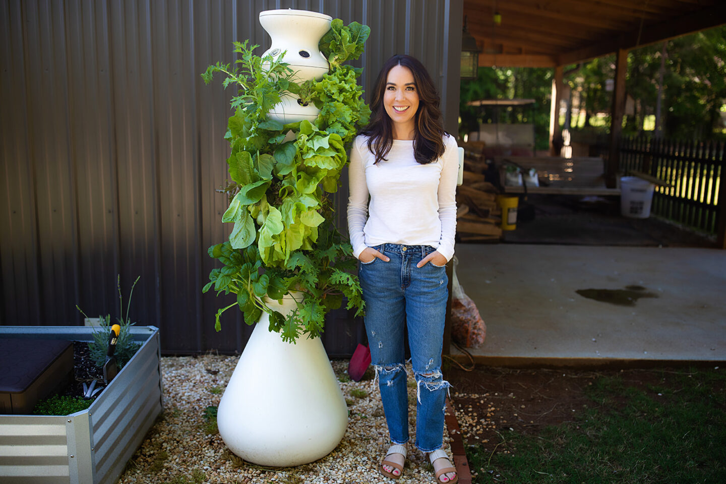easy hydroponic garden, featured by top Atlanta lifestyle blogger, Moderately High Maintenance
