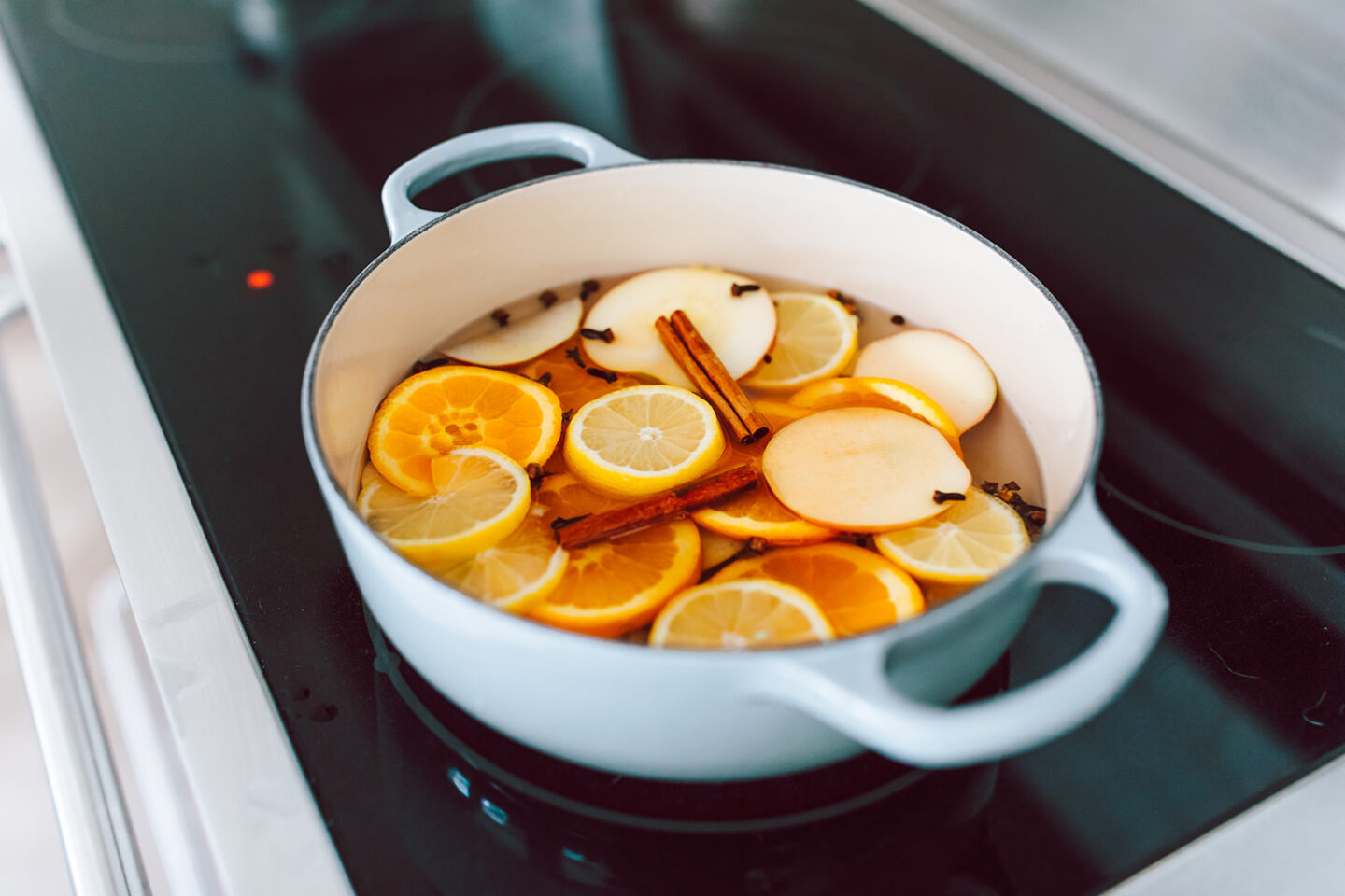 Homemade Simmering Potpourri recipe featured by top Atlanta lifestyle blogger, Moderately High Maintenance